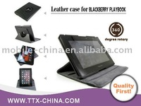 hot and stylish uniquely designed stand leather case cover for blackberry playbook