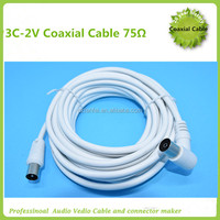 75ohm 3C2V coaxial cable for tv cable factory price