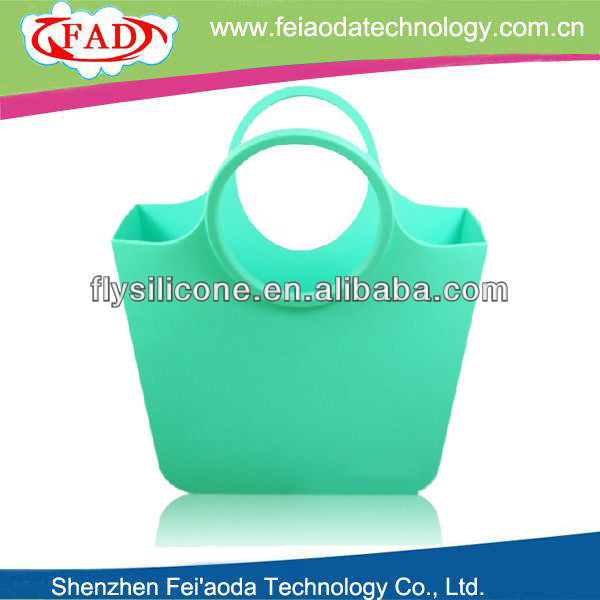 FDA & LFGB advanced fashion silicone cheap wholesale handbag from china