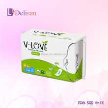 Disposable Sanitary Pad with Negative Ion ,Active Oxygen, Far IR, Nano Sliver