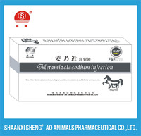 New Health Care Products Veterinary medicine Metamizole Sodium Injection 30% with GMP Certificate