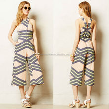 Hot wholesale crossed women rompers latest design jumpsuits for women 2014