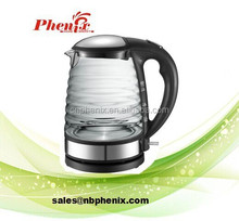 heat resistant glass electric tea kettle with best price