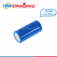Fast Delivery 16340 550mah 3.7v Li-ion Rechargeable Storage Battery