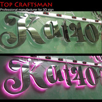 Custom Arylic Light Up Letter Signs