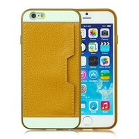 Fashion Wallet Feature with Credit/id Card Slots/holder&strap PU Leather Case Cover For Apple Smart Mobile Phone