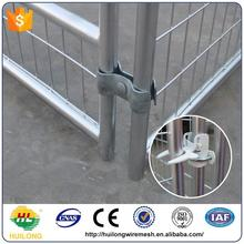 2016 new Galvanized Comfortable Wire Dog Kennels For Flamingo Black Color Huilong factory