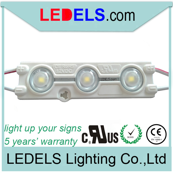 Powered by everlight SMD2835 led, 3-led module SMD 2835 UL listed LL-F12T6416W3A160