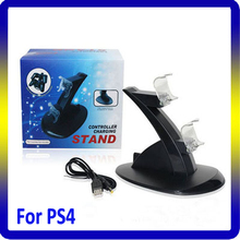 Double Docking USB Charging Stand for PS4 Controller Vertical and Horizontal