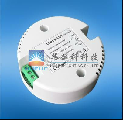 20W round shape led driver with constant voltage & constant current