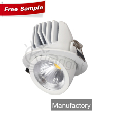 trimless 30 watt led gimbal downlight housing
