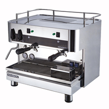 multi function steel cafe commercial double group coffee machines