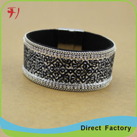 hot new products for ebay best selling fashion black mexican bracelet