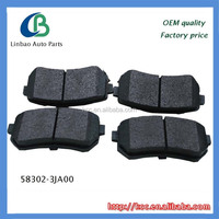 Wholesale high performance brake pads for HYUNDAI 58302-3JA00 auto parts