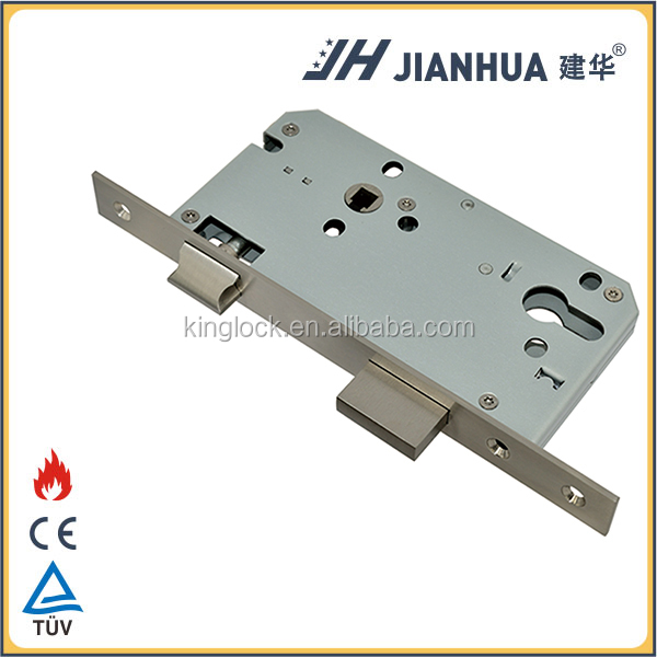 Europe standard high quality 8545 mortise door lock body hidden security lock