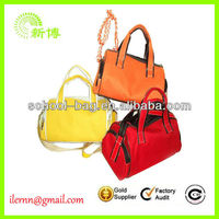 family waterproof fashion beach tote bag