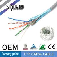 SIPU hgih quality ftp cat5 network cat 8 cable for digital TV receiver