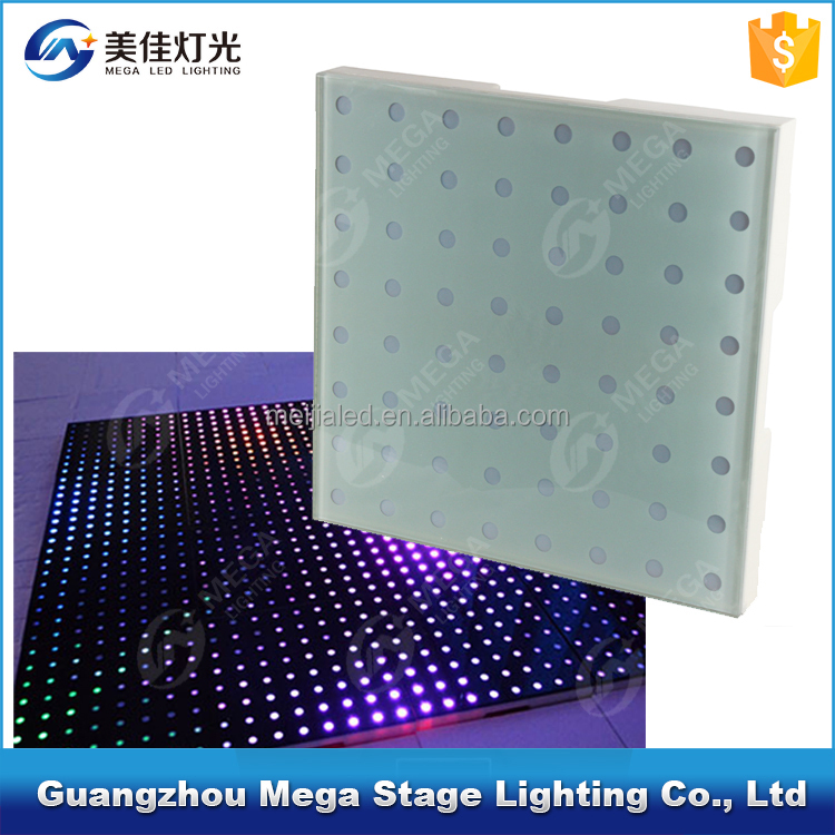 Guangzhou 12w power pixels stage light rgb 3in1sensitive night club dance floor