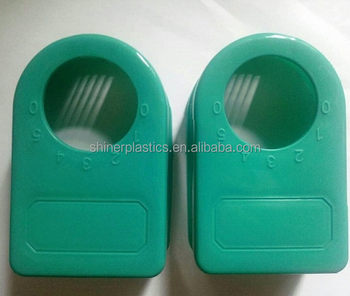 green Custom Molded Plastic of the electric fan timer