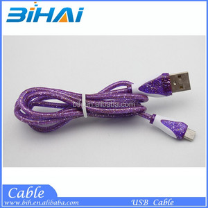 3.5mm Braided Fabric Audio AUX Cable 1M 3FT Colorful 3.5 mm Male to Male for iPhone Samsung ipad