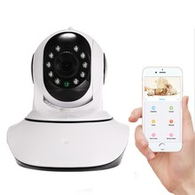 cheap megapixel wireless pan tilt ip baby monitor network security camera with sd card recording