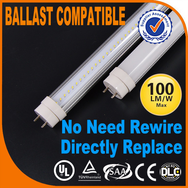 Welcom make mini order 600mm led t8 no remove ballast and starter