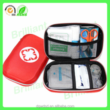 Emergency tools manufacture unique private label eva first aid kit with zipper