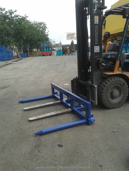 Forklift Drum Lifter Horizontal / Oil Drum Lifter