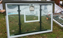 HUFFY SUPER JAM Basketball System Glass Backboard ONLY REPLACEMENT Basketball System Glass Backboard