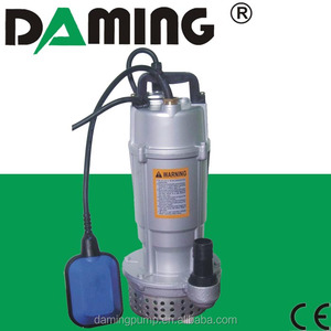 0.5 HP submersible water pump (QDX1.5-17-0.37)