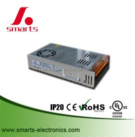UL CE Approved single output 12v 24v 300w 320w switching power supply