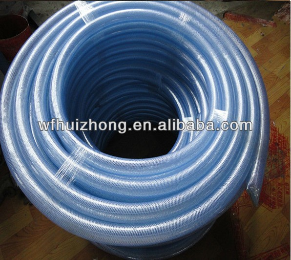 pvc reinforced braided hose manufacturing plastsic products hose