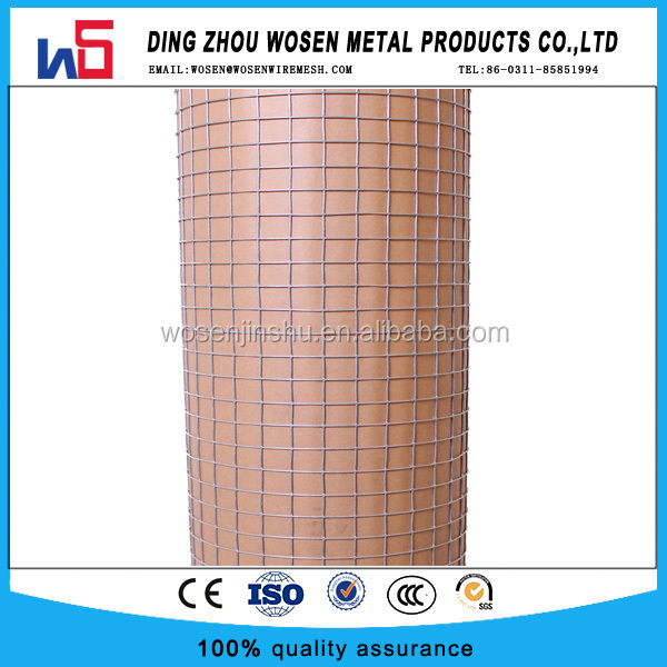 1/2'' 1/4'' black coated welded chicken wire mesh/rabbit cage wire mesh