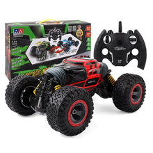 1:10 Scale Double Sided 2.4GHz RC Remote Control Stunt Vehicle Climbing Car