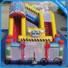 Guangqian Giant Inflatable Bouncer with Slide for Children