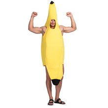 halloween adult carnival costumes Promotional unisex Funny Banana Costume