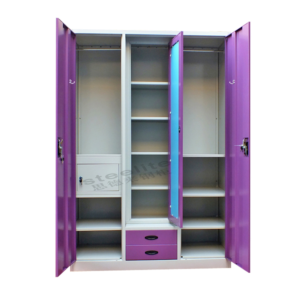 Wall Almirah Inside Designs : Steel or iron almirah cupboard designs with inside hanging