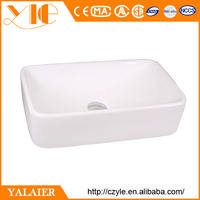 Modern cheap best white porcelain fancy bathroom sink vessel