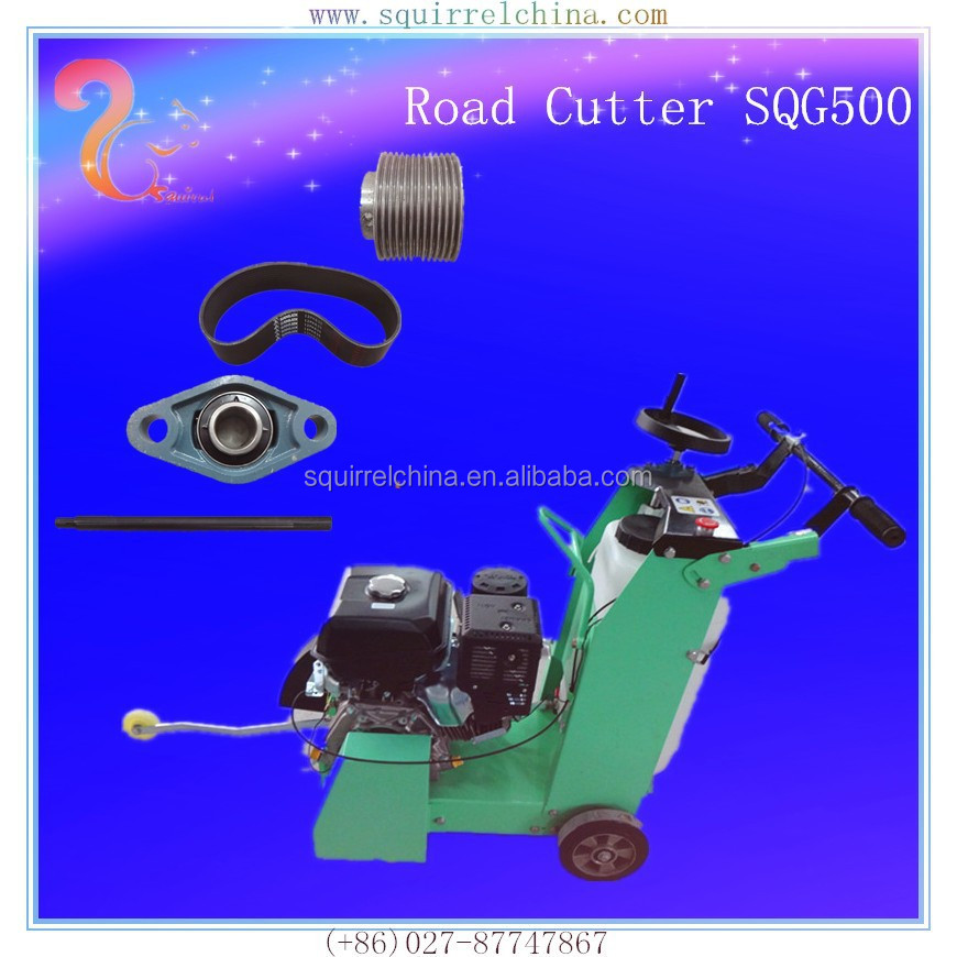 walk behind handheld factory COHLER CH440 engine high quality gasoline asphalt concrete road cutter machine
