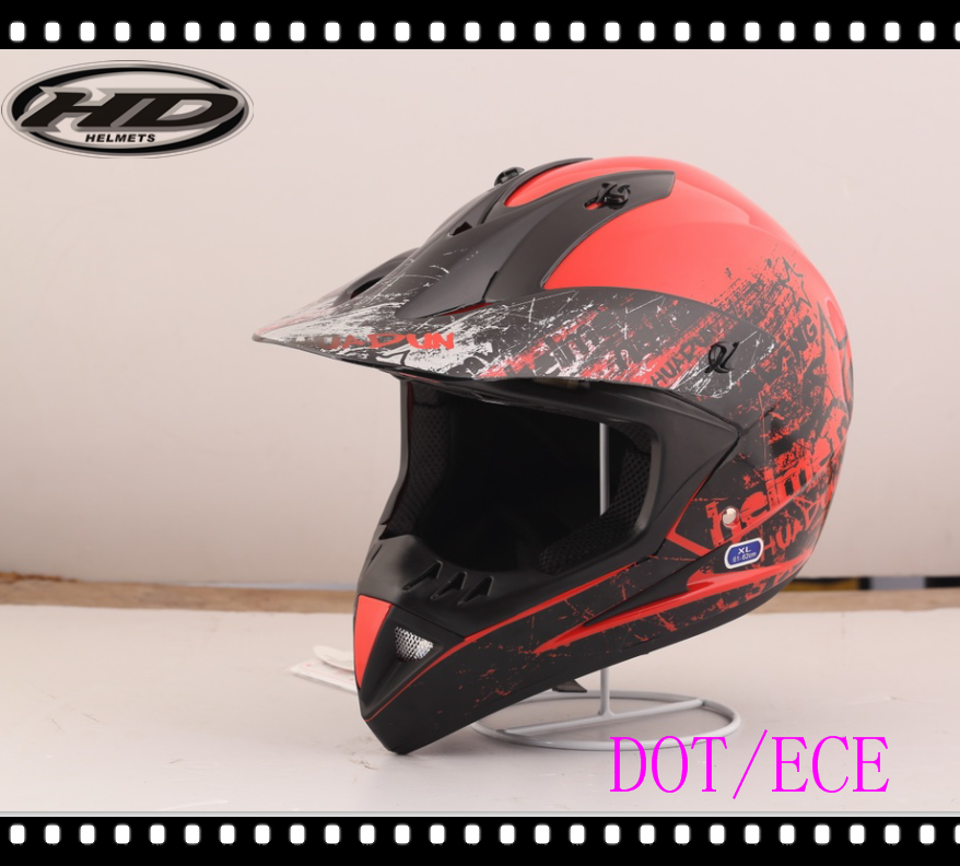 HD full face cross sports helmet/helmet motorcycle motocross