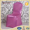 Custom Restaurant Hotel Luxury Free Pleated Pink Spandex Wedding Chair Cover