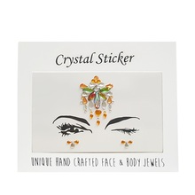face jewel stickers body jewelry tattoo sticker