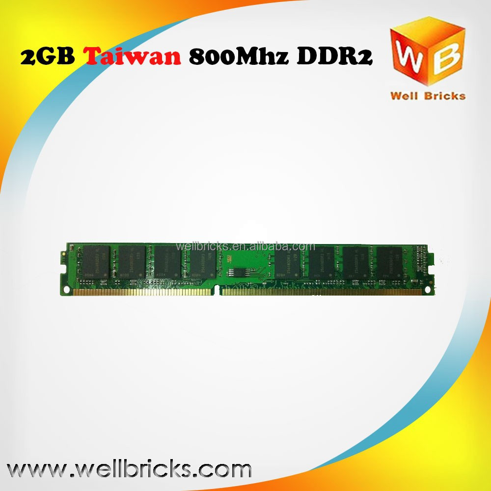 Best price manufacturer in Taiwan all motherboards ddr2 2gb 800 mhz memory