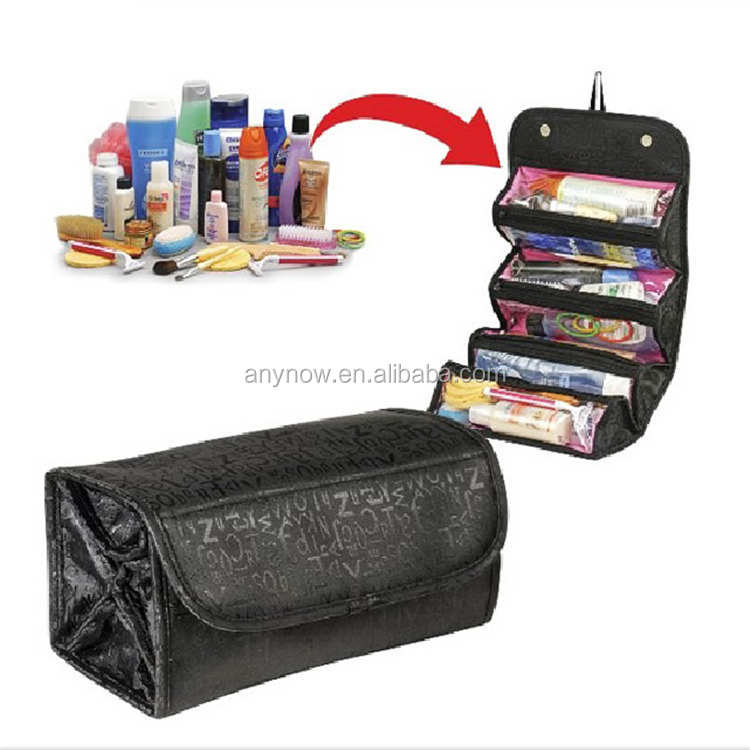 Travel Roll-N-GO Cosmetics Organizer Storage Bag