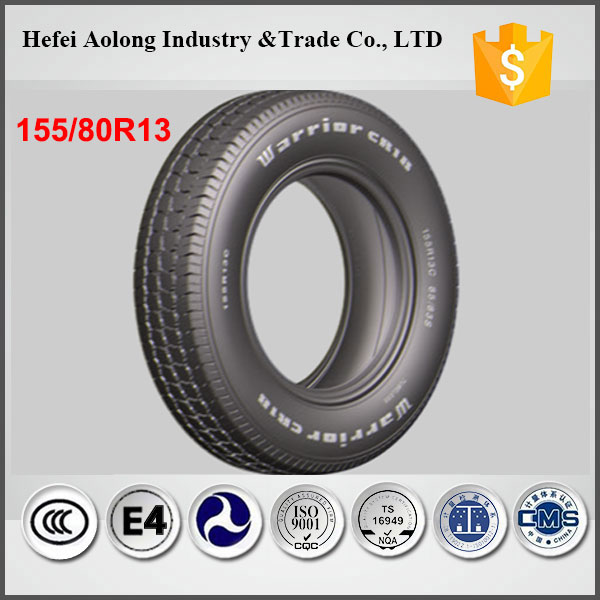 German technology hot sale 155/80R13 car tyre