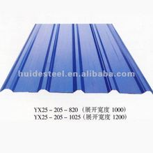 Metal Roofing Sizes, Prepainted Corrugated Steel, Roofing Sheet