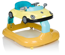 Anti rollover Multi-function Taxi Toy car with musical baby walker 8 wheels