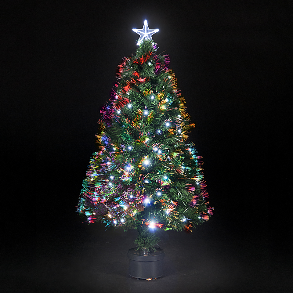 Small Fibre Optic Christmas Tree