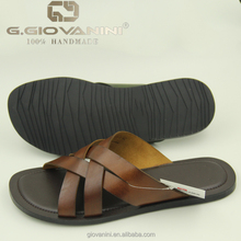 croc leather in tan materials to make sandals gender men products slipper shoes in summer