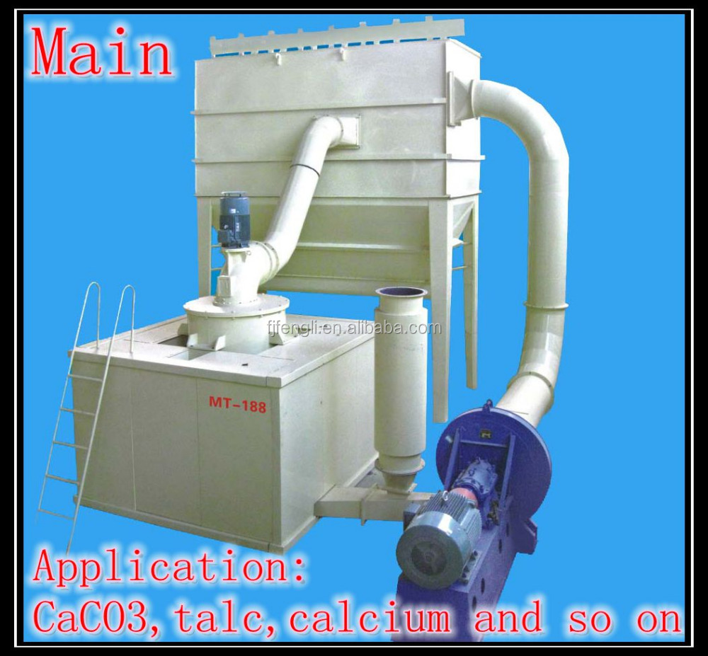 MT-188 gypsum,calcite,barite,kaolin powder ball mill/ultrafine grinding machine/pulverizer